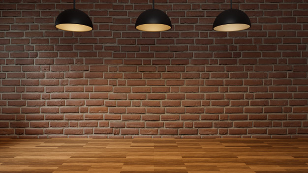 empty-room-with-brick-wall-wooden-floor-modern-ceiling-lamp-interior-loft-style-3d-rendering_1421-4280