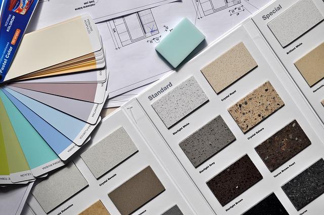 vzorník barev do interiéru