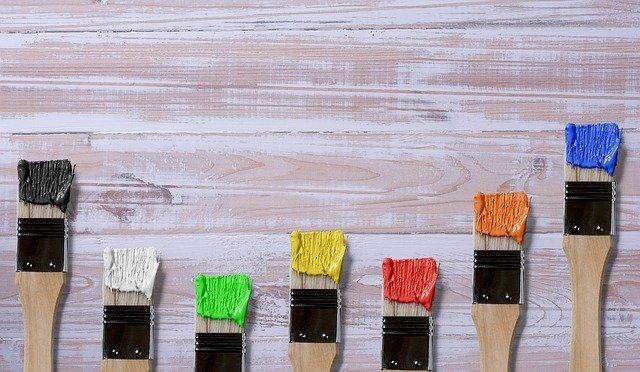 štětce od barvy
