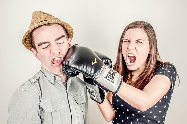 argumentace muže a ženy