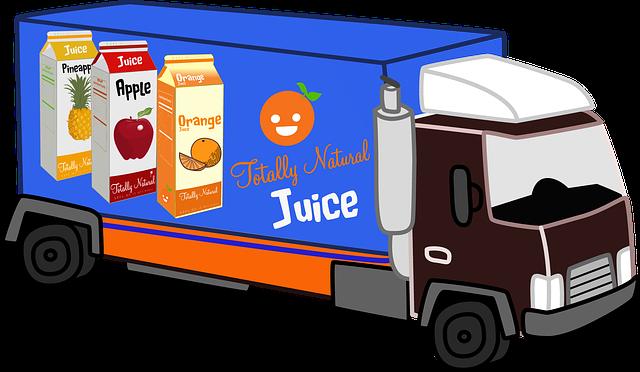 přeprava potravin