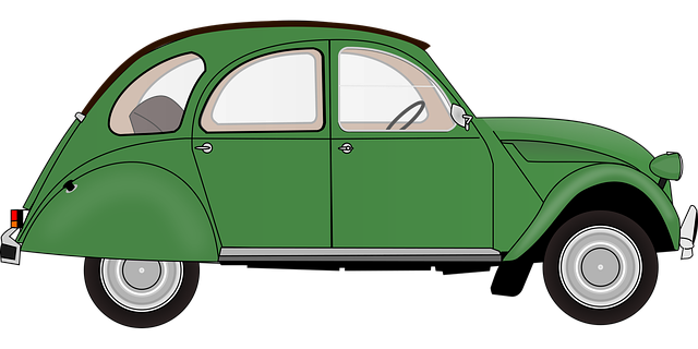 malý automobil ilustrace