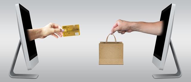 nákup a placení přes pořítač
