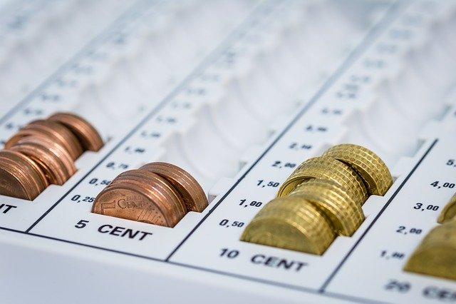 srovnané mince