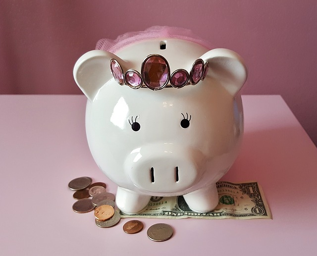 dívčí pokladnička